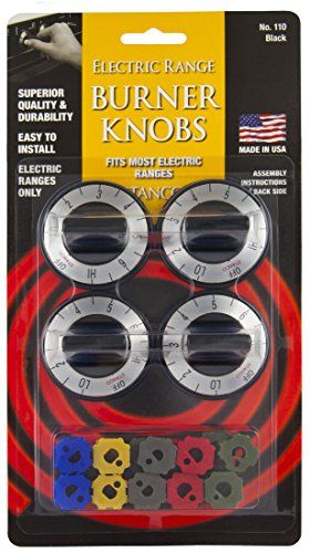 Stanco 4 Pack Universal Electric Range Stove Knobs Black >>> You can get more details by clicking on the image.Note:It is affiliate link to Amazon.