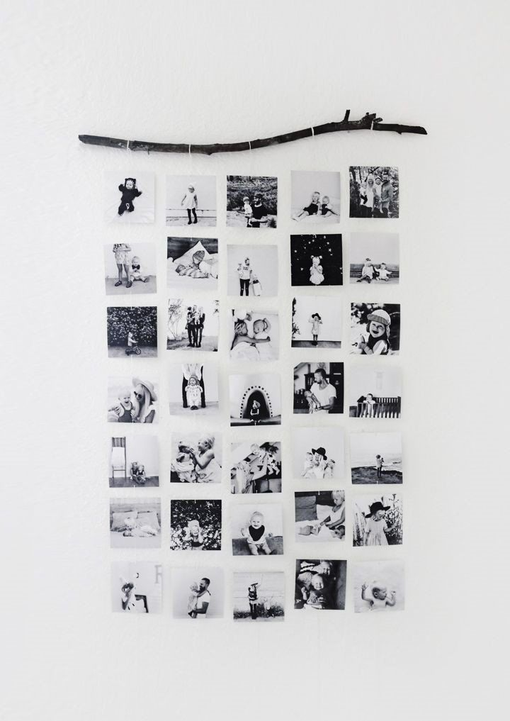 5 Diy Projects To Turn Your Photos Into Wall Art Society19 Photo Collage