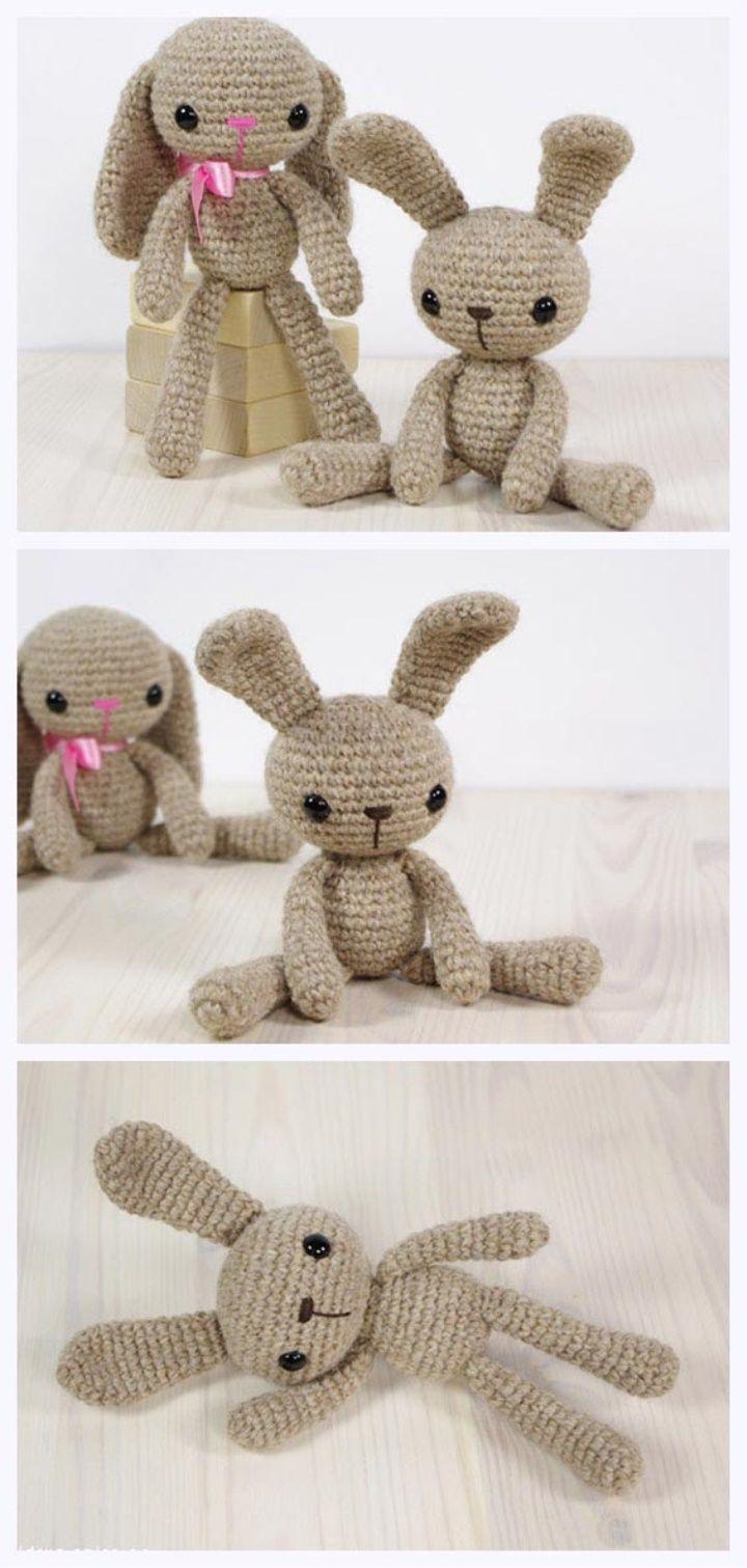 Amigurumi Bunny Free Pattern | crochet | Pinterest | Aprender a ...