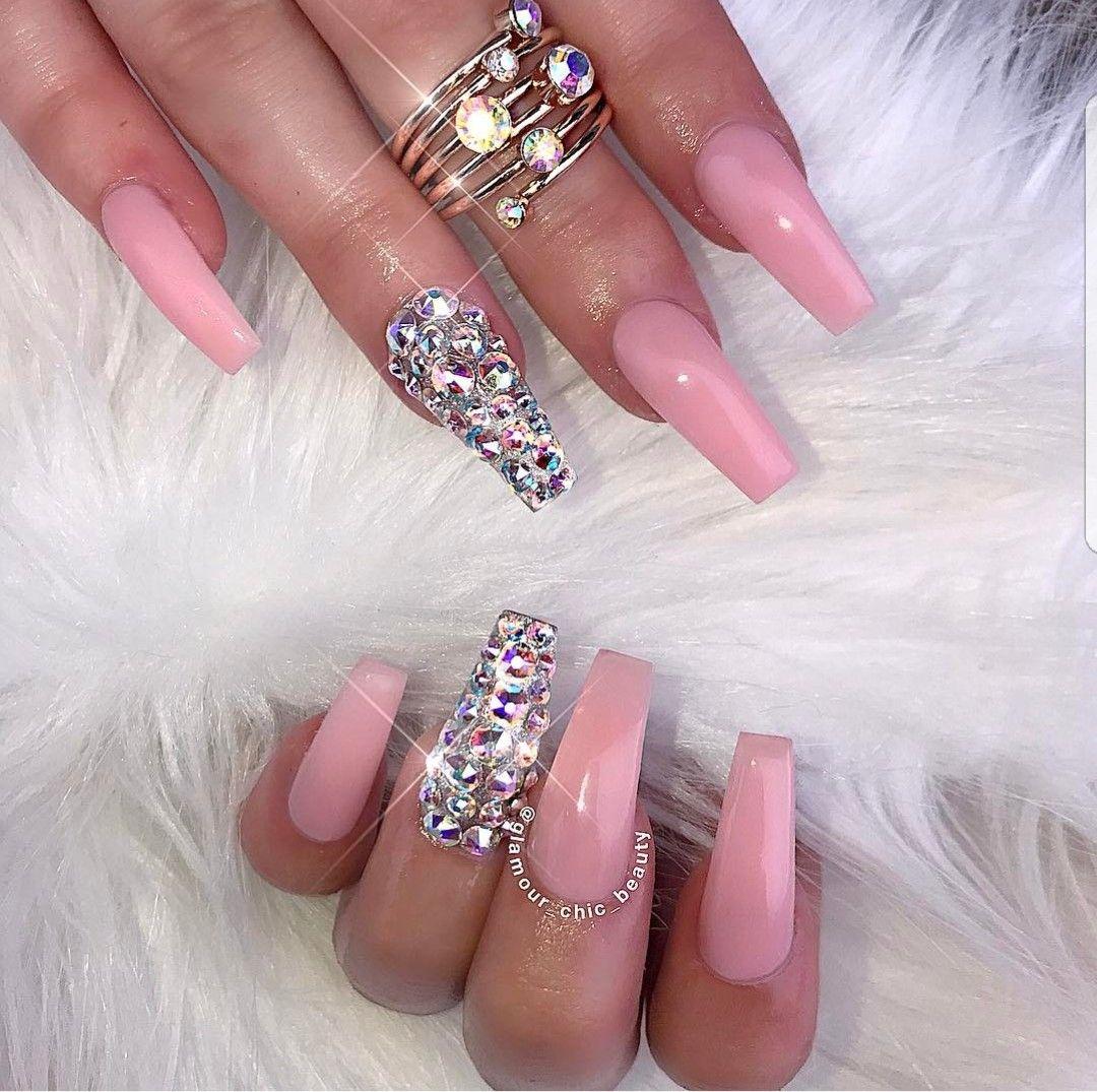 Pin by Allison Bowen on nail salon   Pinterest   Nail bling, Nail ...