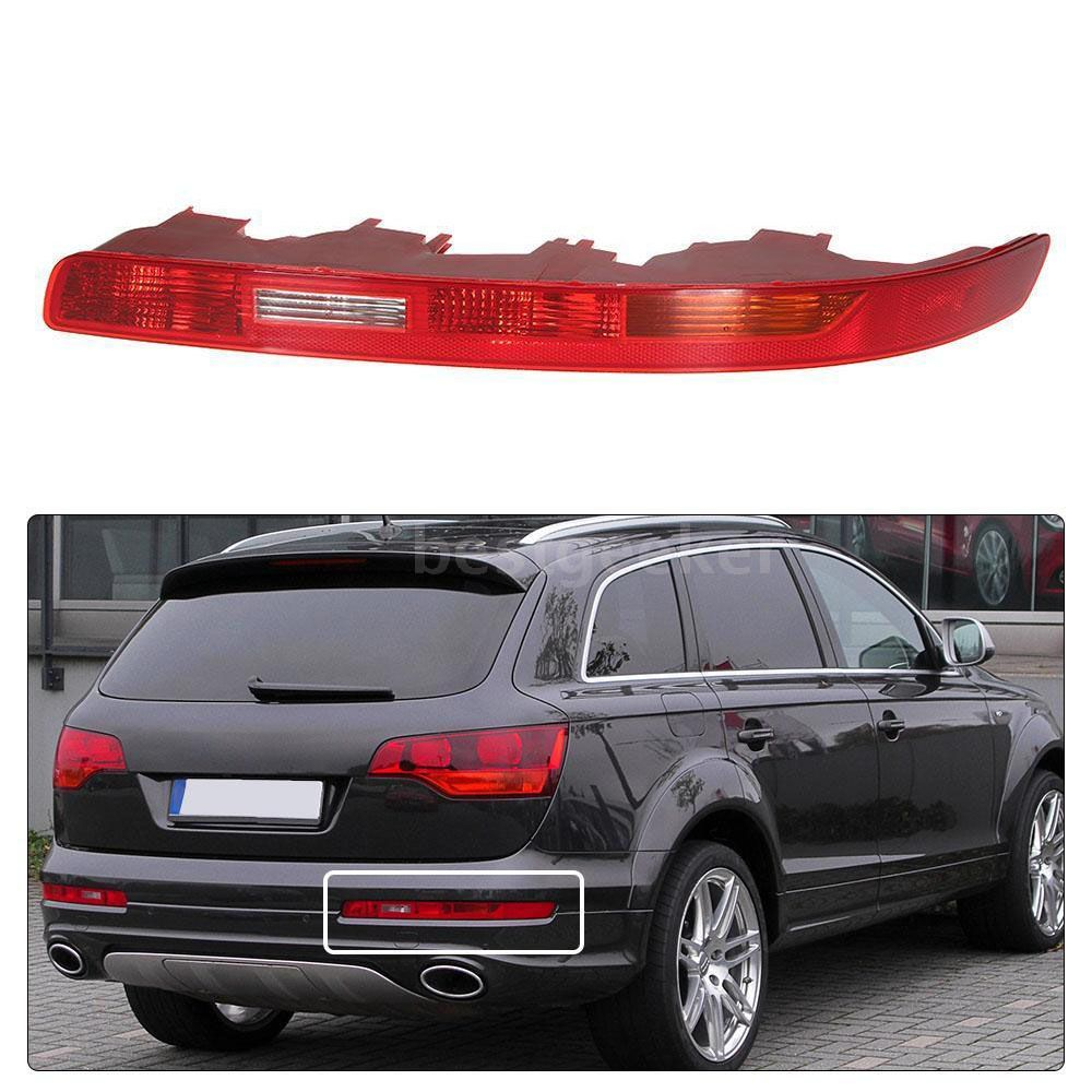 Free Shipping Buy Best Abs Plastic High Quality Red Right Side Rear Bumper Light Without Bulb Lower Tail Lamp Cover For Audi Q7 2009 2012 Online Wi Audi Q7