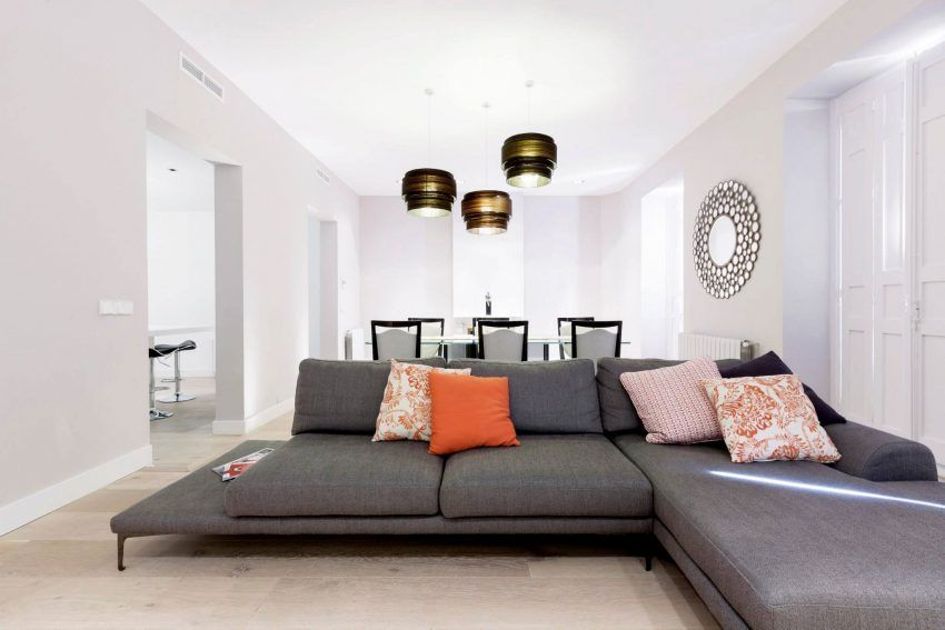 Simona Garufi Remodels An Apartment In The Salamanca District Of Madrid,  Spain