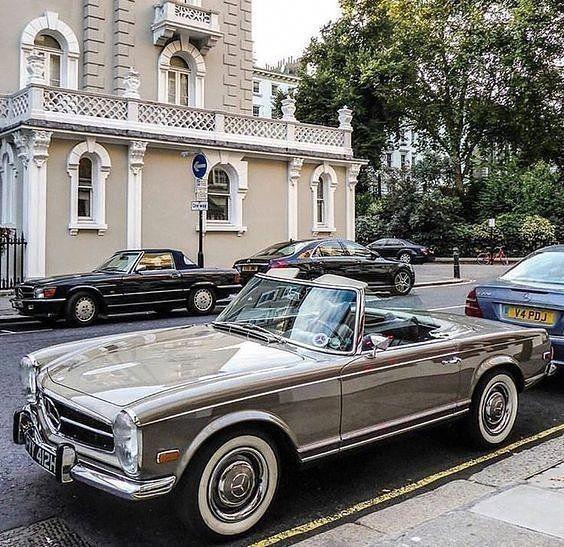 """784 Likes, 14 Kommentare – Rob Mac auf Instagram: """"Ein wunderschöner Mercedes…"""