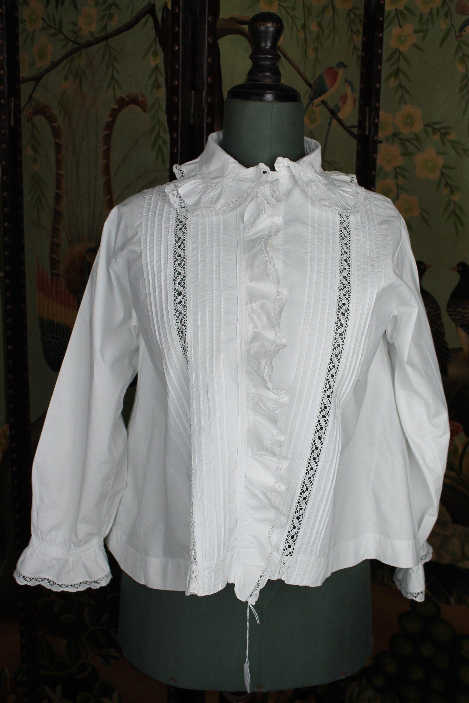 CAMISA ANTIGUA en 2020 | Camisas antiguas, Camisas, Moda antigua