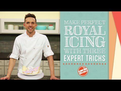 Making Perfect Royal Icing: 3 Expert Tricks - YouTube