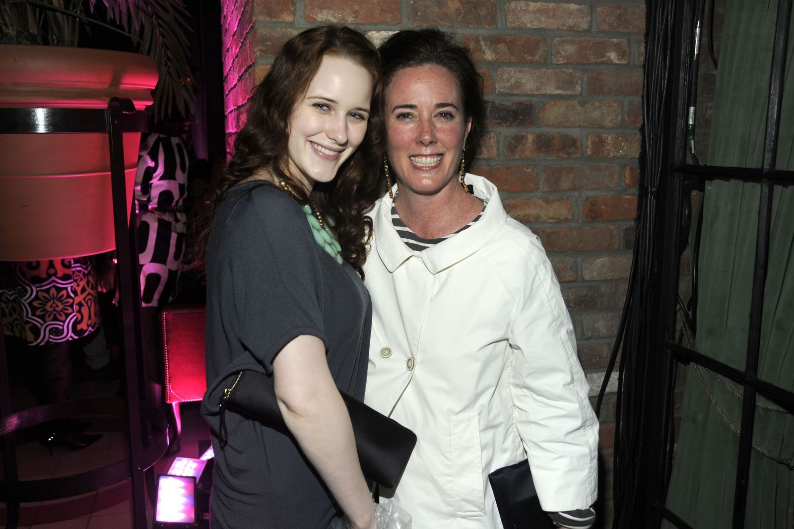 Designer Kate Spade Is Survived By Her Husband And 13 Year Old Daughter Rachel Brosnahan Kate Spade Spade