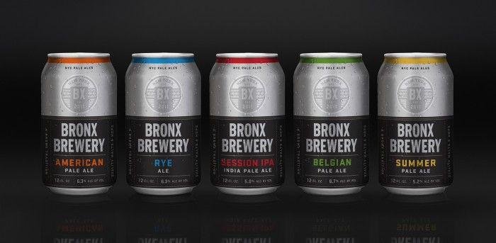 Bronx Brewery branding