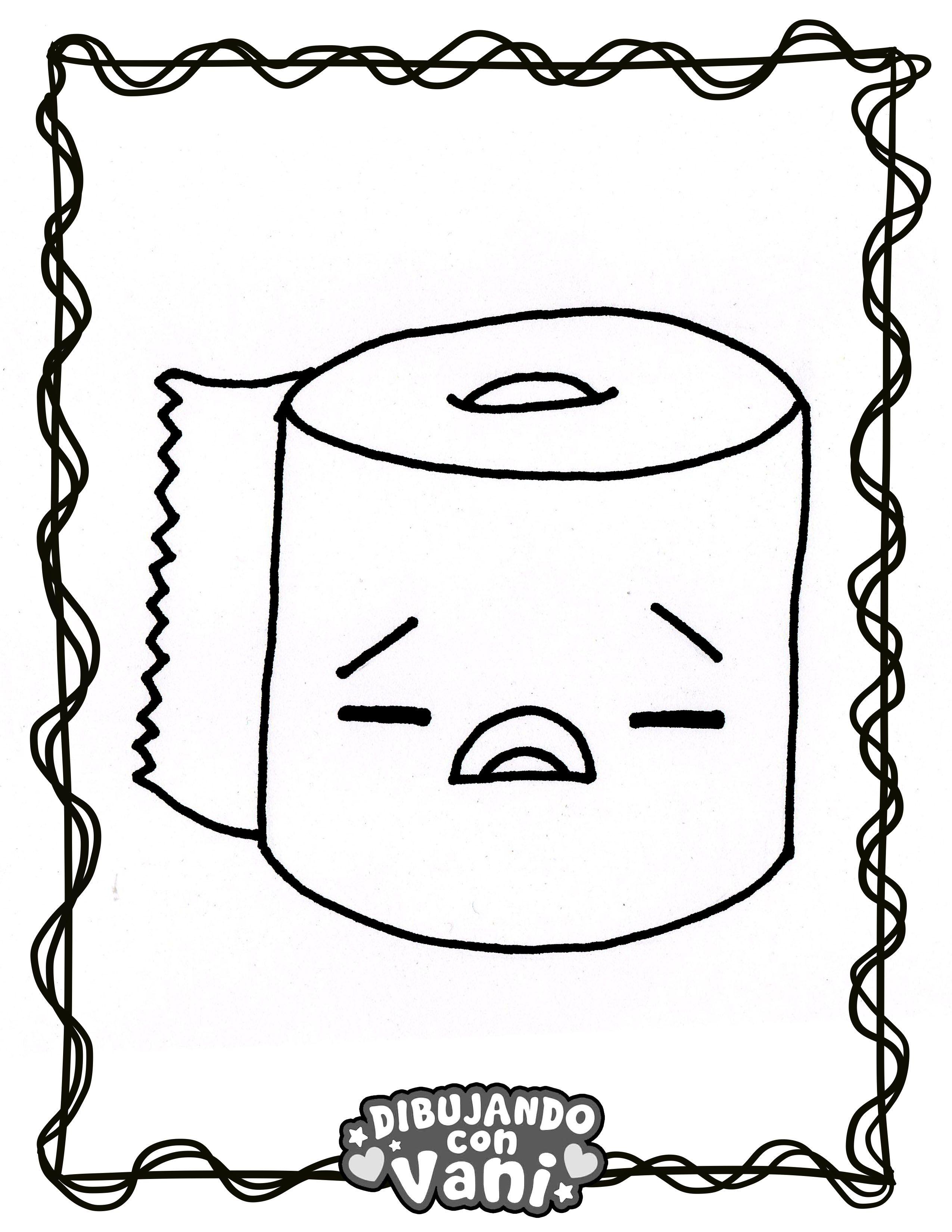 Pin De Dibujando Con Vani En Dibujos Para Colorear Kawaii Anime