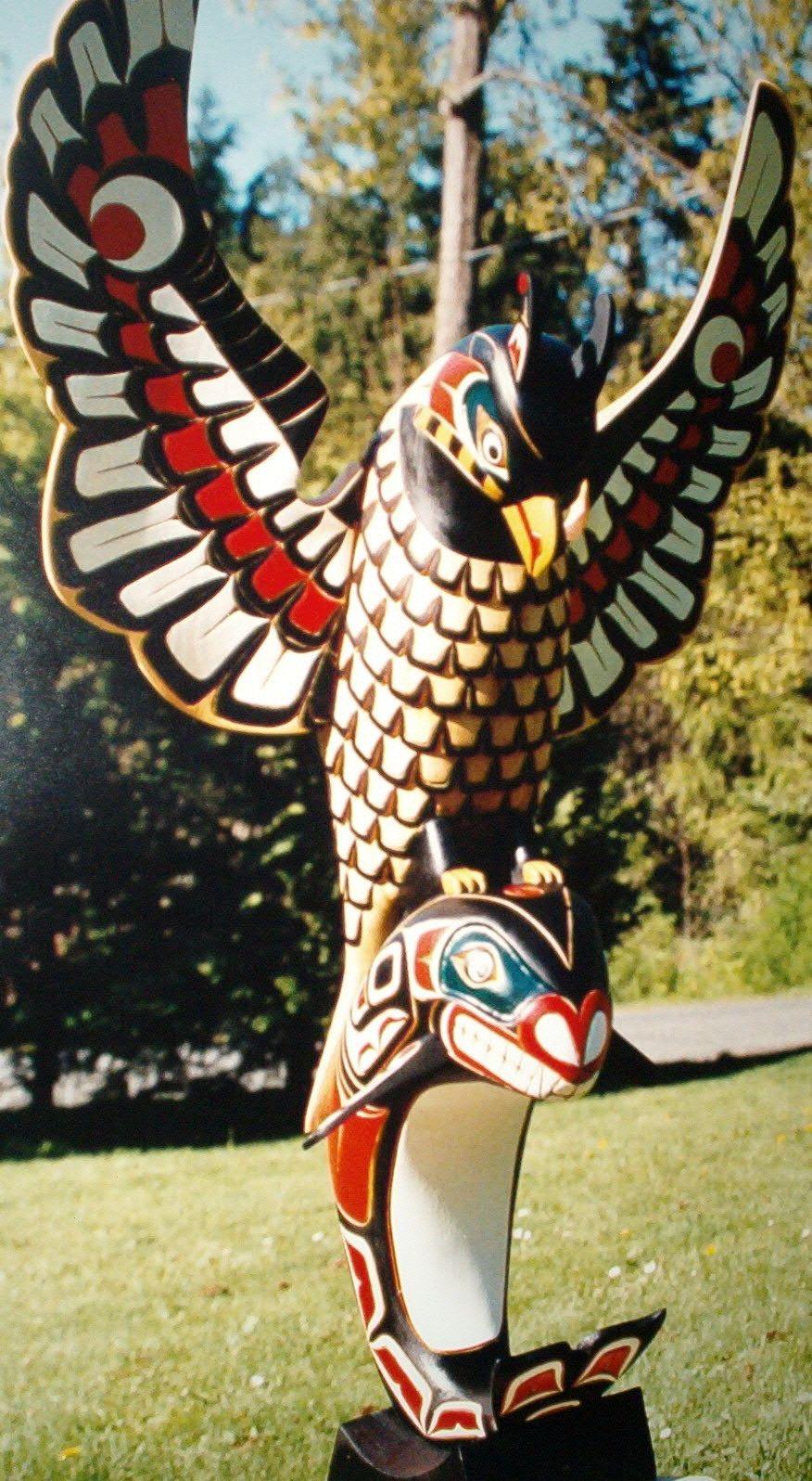 Totem pole animals | Animal kingdom | Pinterest