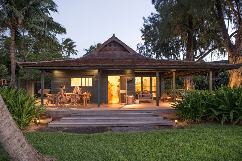 Roberto Sosa remodeled Paia, Maui Beach House Beach