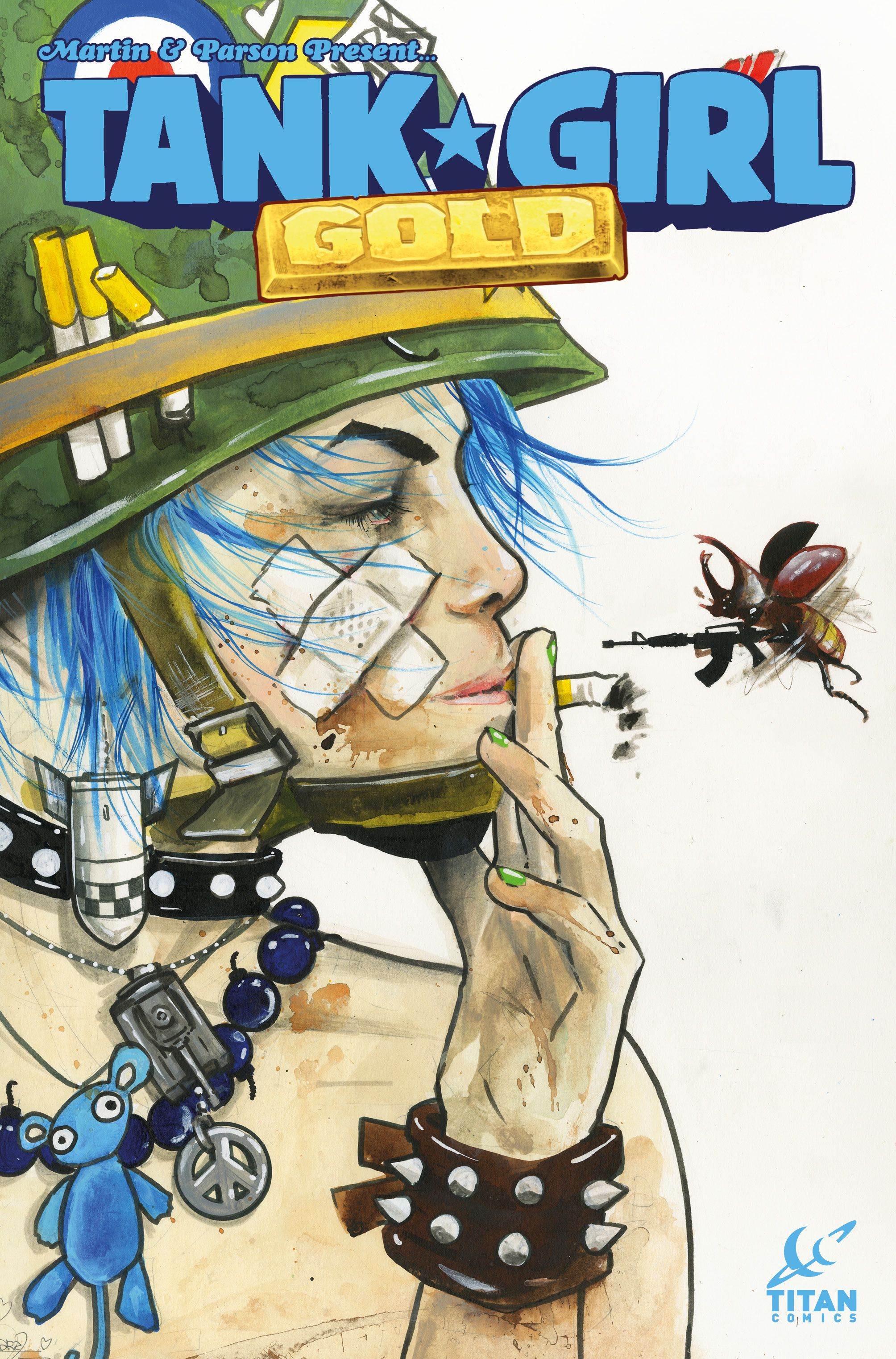 Tank Girl Heads Down The Furry Road In Tank Girl Gold Tank