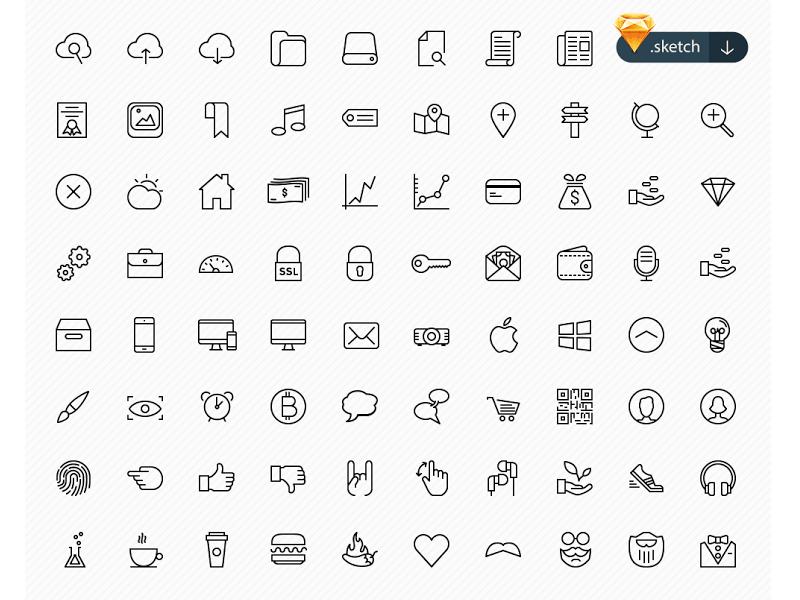 100 Beautiful Icons