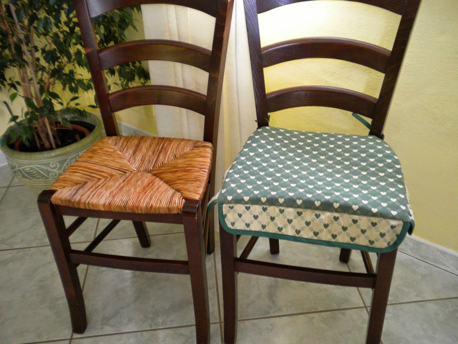 Cuscino per sedie Tutorial | Cuscini per sedia, Cuscini ...