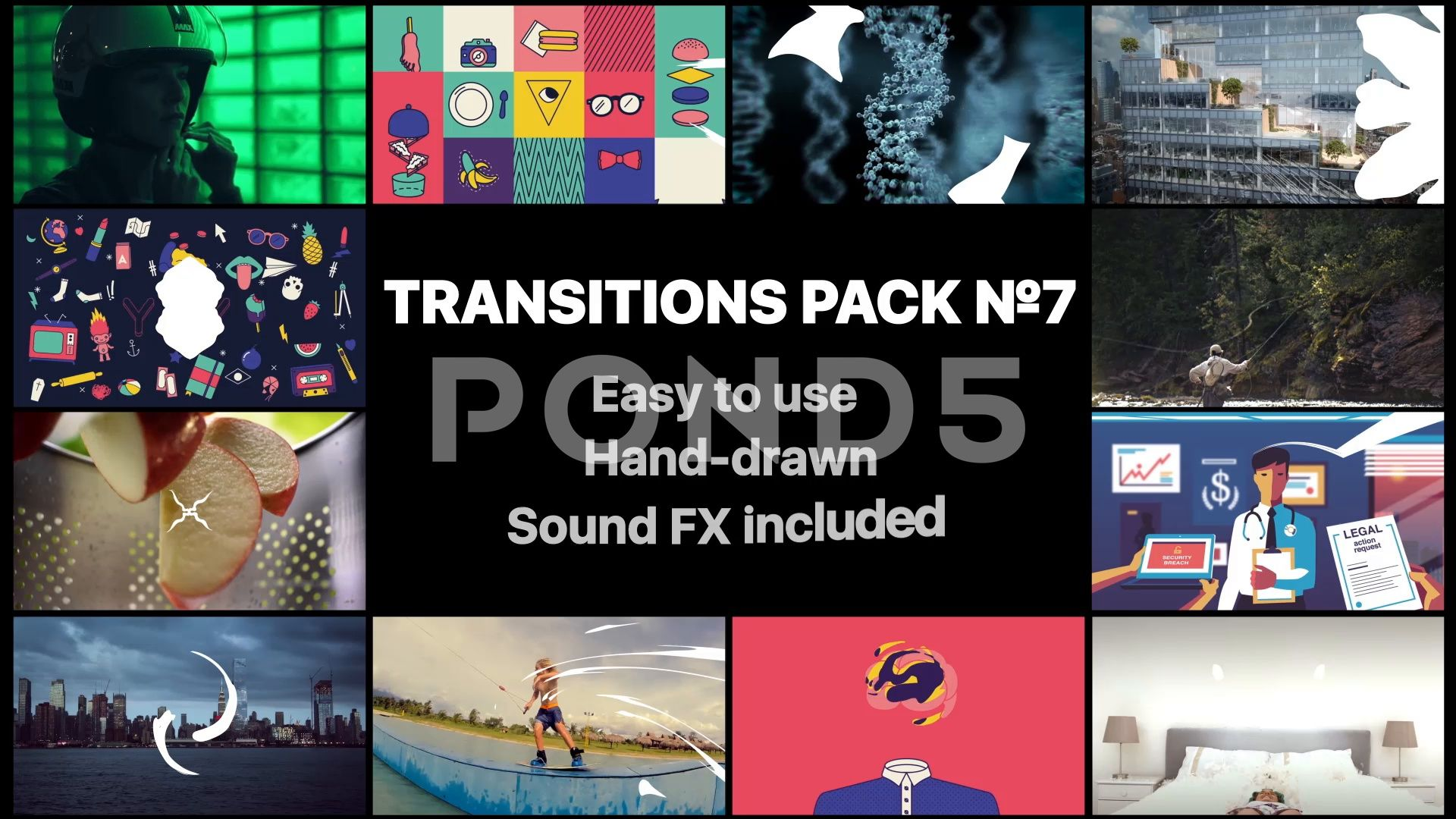Liquid Transitions Pack 07 Stock After Effects AD ,Pack