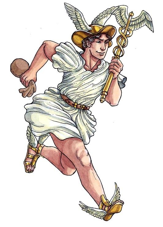 Merkur - God of the Travelers, Thieves and he is the ...