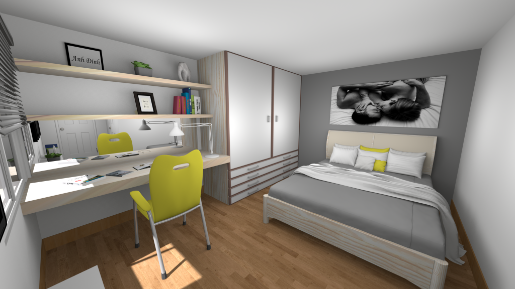 Sweet Home 3D Forum - View Thread - Bedroom for couples ...