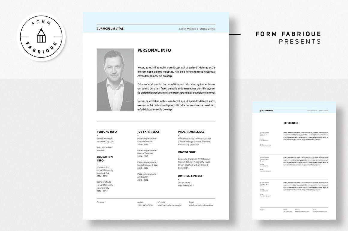 Resume Cv Best Resume Template Resume Template Word Clean Resume Template