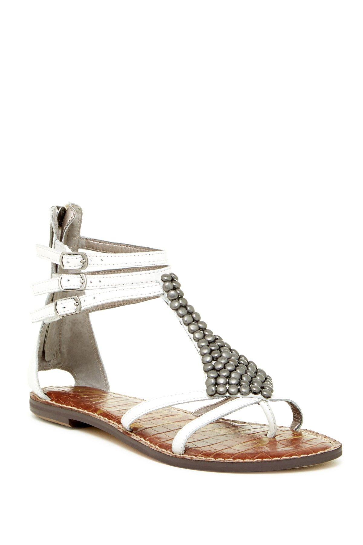 Sam Edelman Grayson Crystal Flower Flat Sandal Women Nordstrom Flower Sandals Womens Sandals Flat Womens Sandals