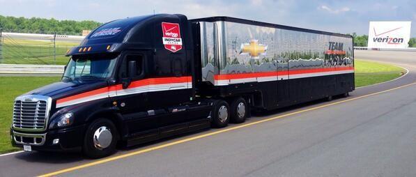 Freightliner Transporter Hauler Penske Chevrolet Indycar