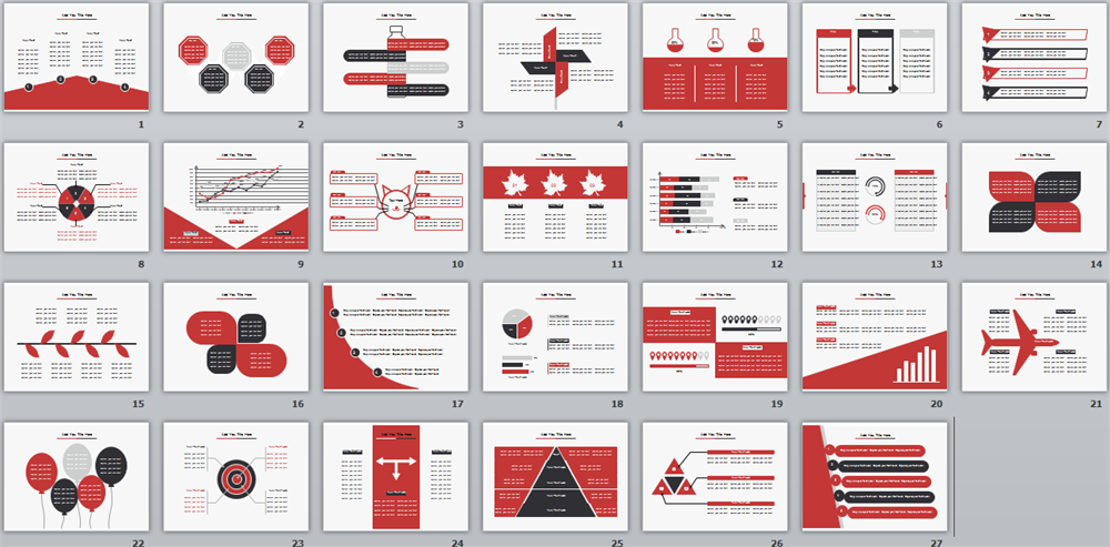 Red ppt template herramientas pinterest ppt template and template red ppt template toneelgroepblik Choice Image