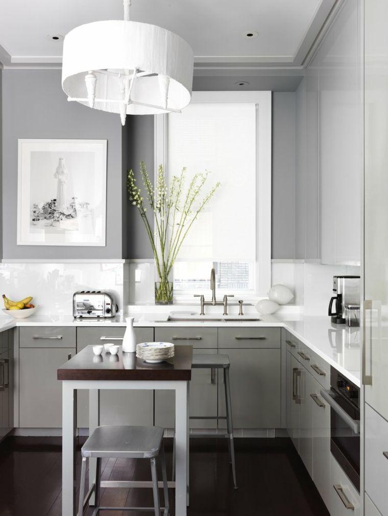 31 Popular Open Kitchen Design 2019 | Decorating Tiny ...