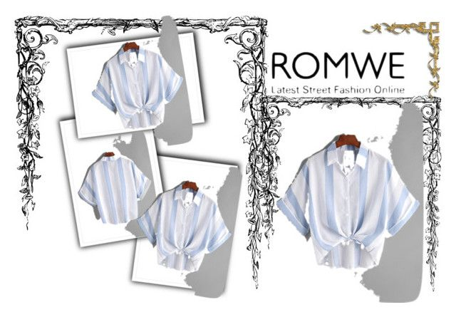 """ROMWE"" by miskimuslim ❤ liked on Polyvore"