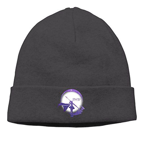 9af53a3388f Mens Guys Ruby Cartoon Silhouette Logo Rwby Rose Beanie Hat Watch Cap      To view further for this item