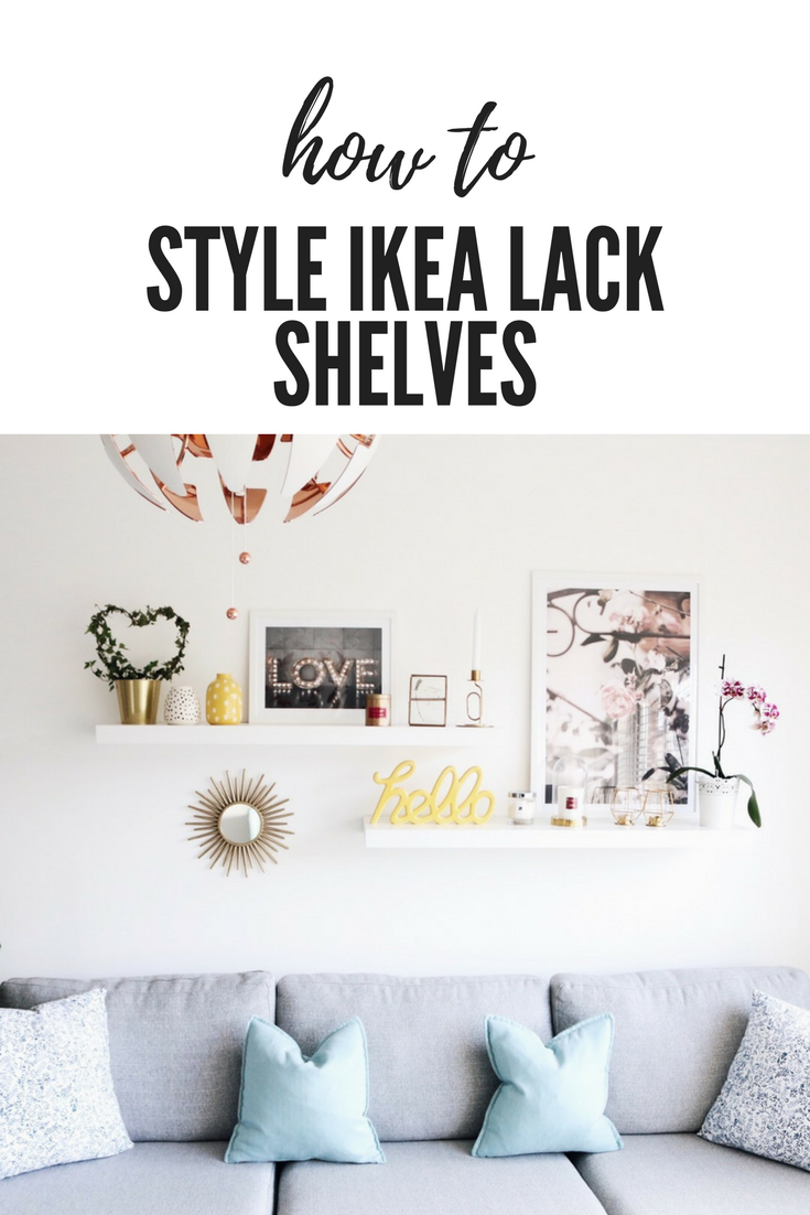 How To Style The Ikea Lack Shelves Your Beauty Ikea Lack Shelves Lack Shelf Ikea Lack Wall Shelf