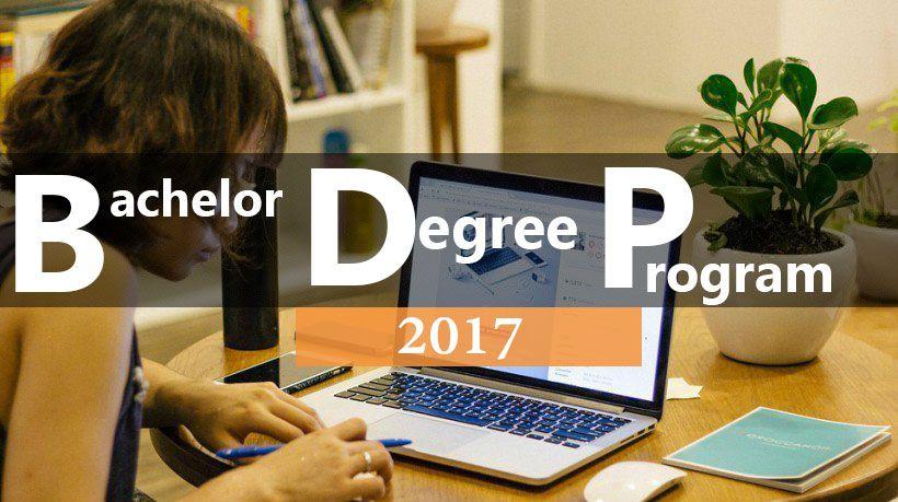 Bachelor Degree Programs 2017 BachelorsProgram Degree