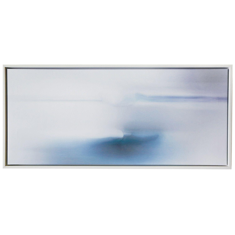 Pom pom at home infinite horizon blue wall art zincdoor