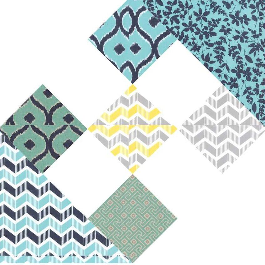 Crossroads to Jericho Quilt Block Pattern | Bloques y Tablero