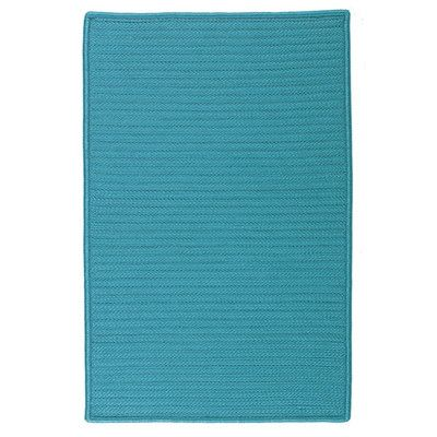 Polypropylene Blue Indoor Area Rug