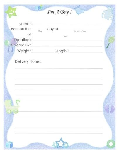 Free Printable Baby Book Page I M A Boy Baby Book Baby Books Diy Baby Book Pages