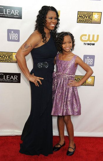 Little Lady of the Hour: 6 Things to Know About Quvenzhané Wallis: Quvenzhané Wallis posed with her mom, Qulyndreia Wallis.