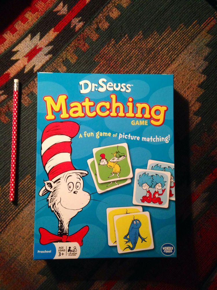 DR. SEUSS MATCHING GAME by Wonder 2014GREAT