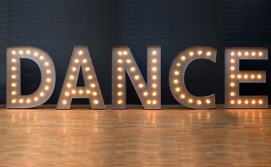 Hire Giant Light Up Love Letters Melbourne