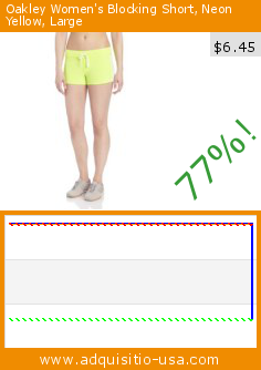 Oakley Women's Blocking Short, Neon Yellow, Large (Apparel). Drop 77%! Current price $6.45, the previous price was $28.00. http://www.adquisitio-usa.com/oakley/womens-blocking-short-1
