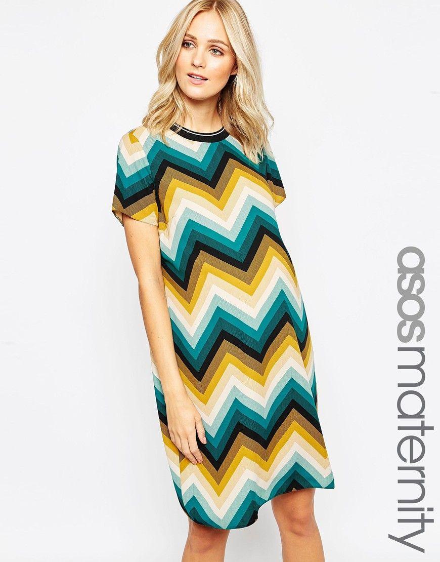 Asos maternity shift dress in chevron print vy buf pinterest asos maternity shift dress in chevron print ombrellifo Choice Image