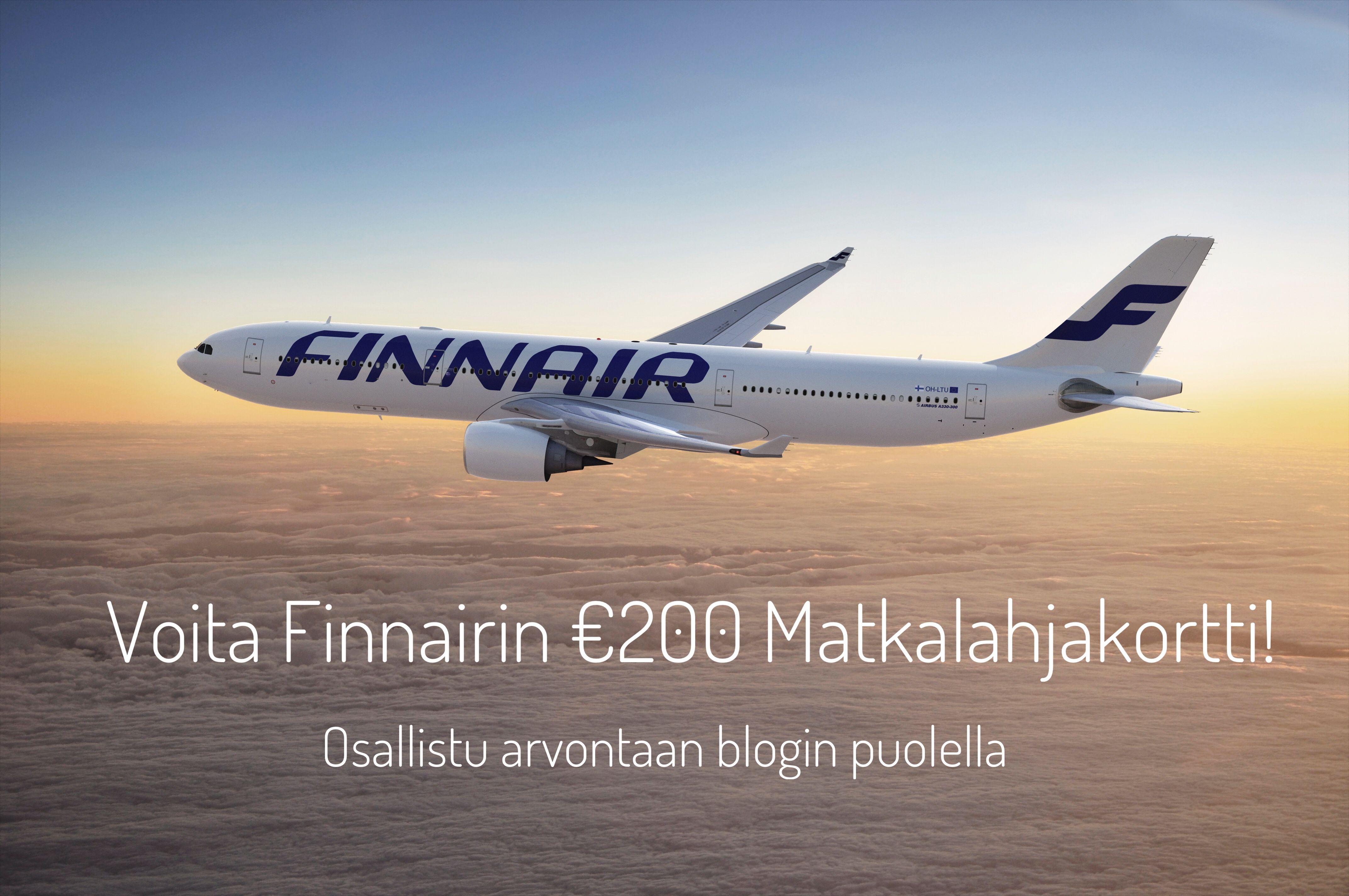 Minulla on ollut onni matkustaa viime vuosina maailman eri kolkkiin ja olen jakanut kokemuksiani blogin puolella jo lähes vuoden ajan. Kiitoksena kuluneesta vuodesta olen valinnut arvottavaksi erityisen lahjan yhdelle teistä ja se jotain mitä haluaisin itsekin saada - toivottavasti meillä on samanlainen maku :)  Käy osallistumassa Finnairin € 200 Matkalahjakortin arvontaan blogin puolella 😃 http://wp.me/p7tkPw-2XG