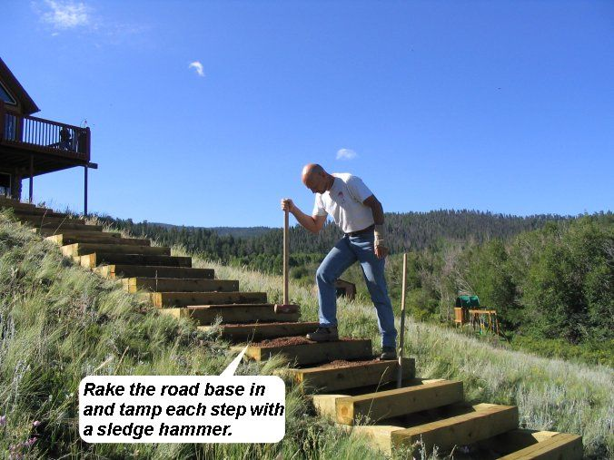 Best How To Build Steps Up A Hill Landscape Stairs Outdoor 400 x 300