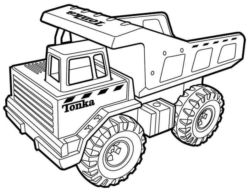 Pin By Daska Taricova On Dopravne Prostriedky Tonka Truck Monster Truck Coloring Pages Truck Coloring Pages