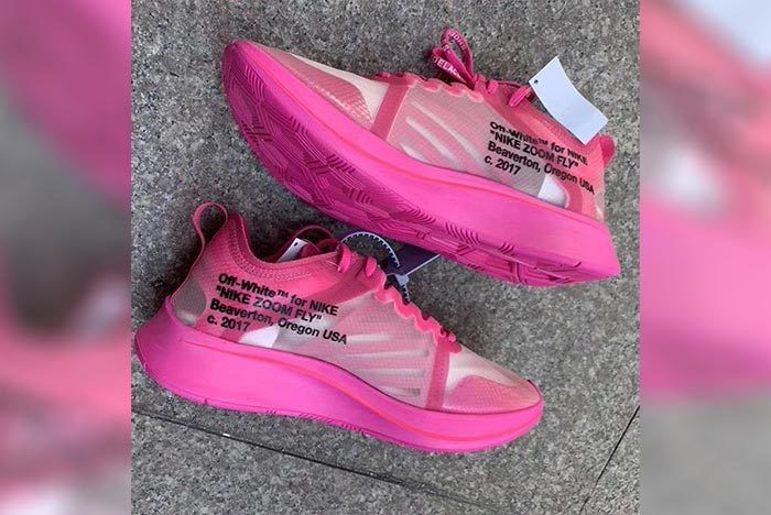 First Look  Pink-Dipped Off-White x Nike Zoom Fly SP  85b1e3bf9