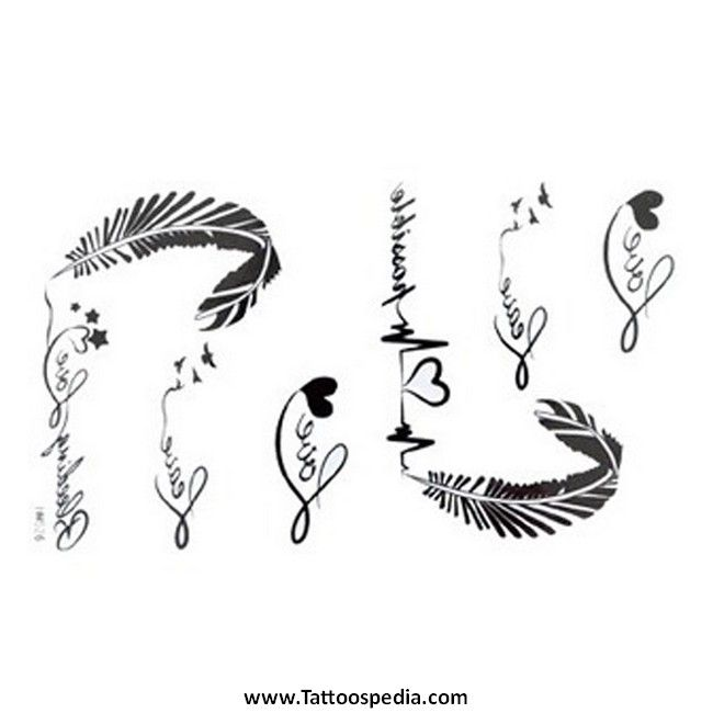 feather tattoo lettering 4 tattoos��amp pinterest