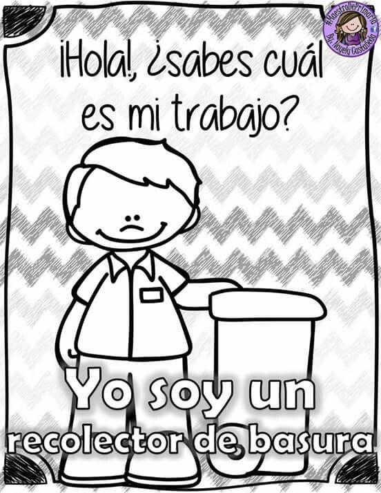 Pin By Angie Jimenez On Para Trabajar Y Colorear En La Escuela Community Helpers Comics