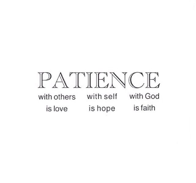 Patience is a virtue | Words quotes, Quote prints, Quotes