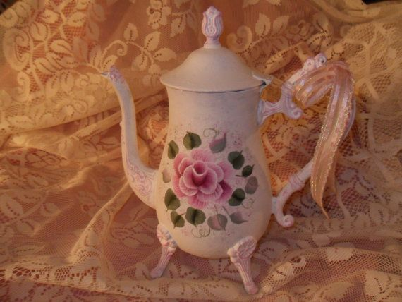 Shabby Cottage Chic Hand Painted Victorian by MacVictorianRose