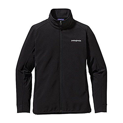 Patagonia Adze Hybrid Softshell Jacket Womens Black M