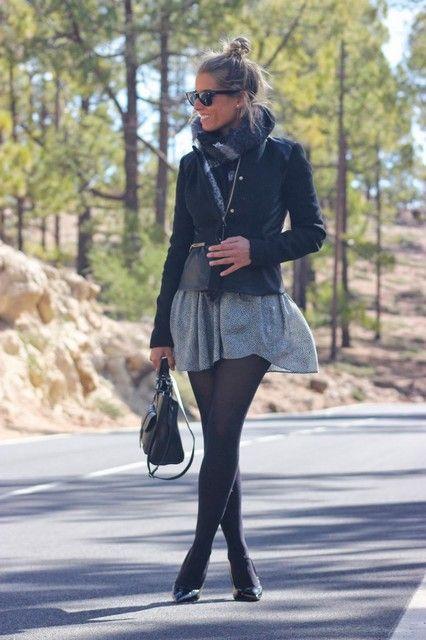 b224a5793 Looks con faldas grises - Trendtation | oufits | Faldas, Vestidos y ...