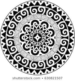 Polynesian Tattoo Images Stock Photos Vectors Shutterstock Maori Tattoo Filipino Tattoos Maori Tattoo Meanings