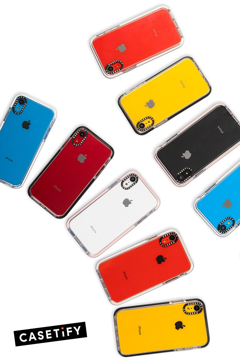 Casetify Clear iPhone XR Case The transparent Impact